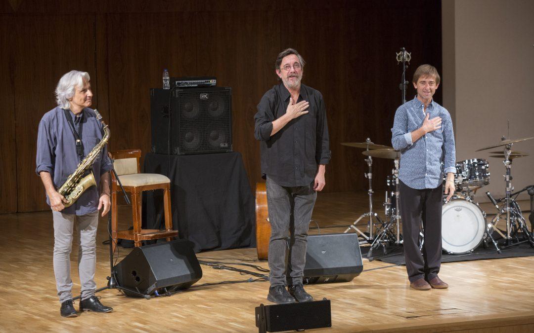 Jazz en el Auditorio: Perico Sambeat, Javier Colina, Marc Miralta; CMS Trío